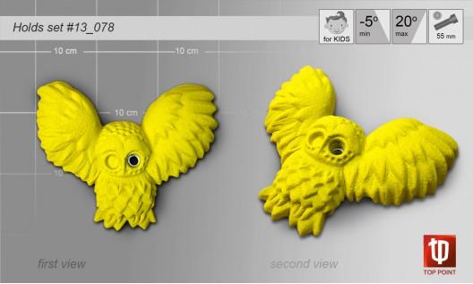 Набор зацепов для скалолазания #078 The Owl