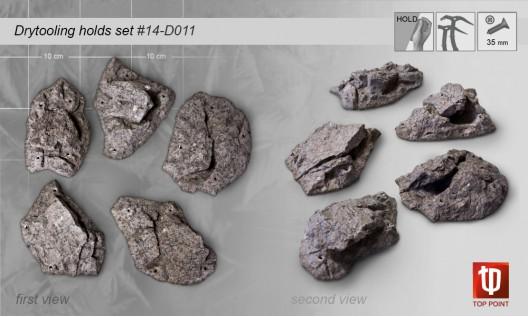 Набор зацепов для скалолазания #011 Rock Spirit