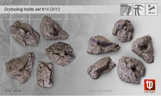Набор зацепов для скалолазания #012 Rock Spirit