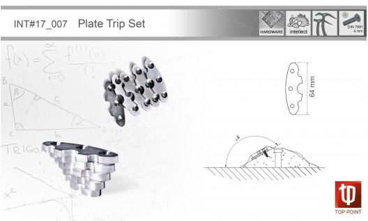 Набор сменных пластин I007 Plates Trip Set