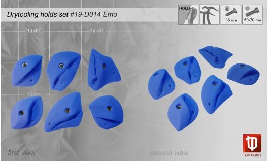 Набор зацепов для скалолазания #014 EMO