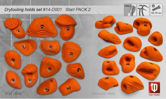 Набор зацепов для ледолазания D002 START PACK 2