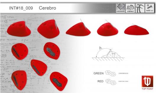 Набор зацепов для ледолазания I009 Cerebro