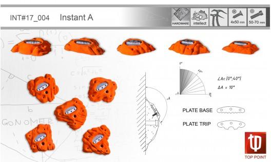 Набор зацепов для ледолазания I004 Instant A