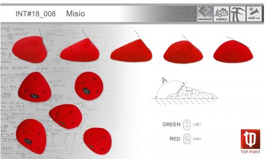 Набор зацепов для ледолазания I008 Misio