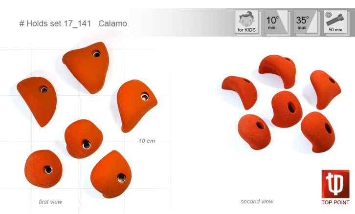 Holds set #141 Calamo