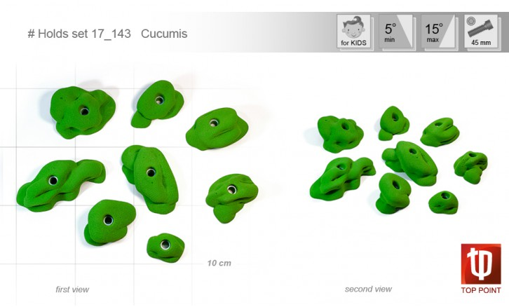 Holds set #143 Cucumis