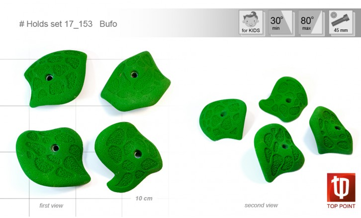 Holds set #153 Bufo