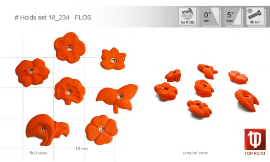 Holds set #234 FLOS