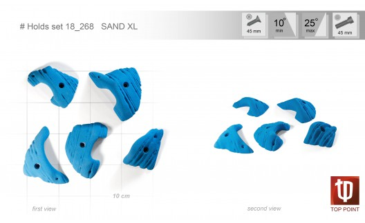 Holds set #268 SAND XL