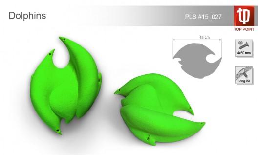 Рельеф для скалолазания Dolphins
