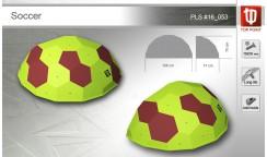 Рельеф для скалолазания Soccer