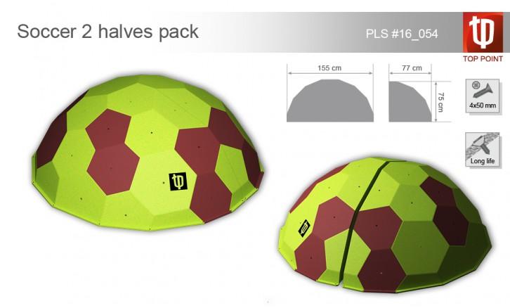 Рельеф для скалолазания Soccer 2 halves pack