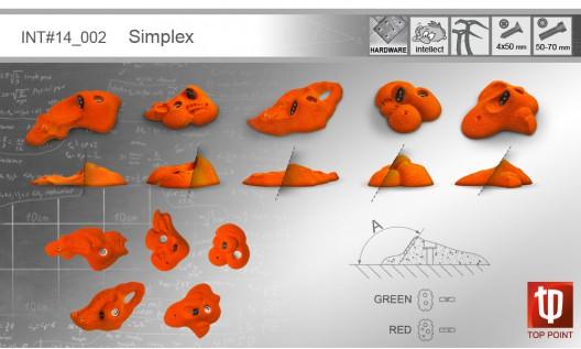 Набор зацепов для ледолазания I002 Simplex
