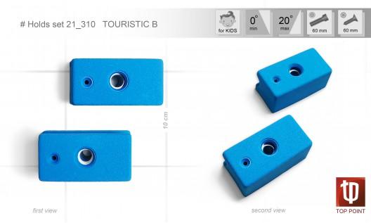 Набор зацепов для спортивного туризма и скалолазания #310 TOURISTIC B