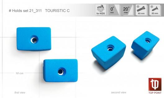 Набор зацепов для спортивного туризма и скалолазания #311 TOURISTIC C