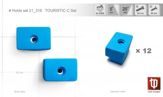 Набор зацепов для спортивного туризма и скалолазания #316 TOURISTIC C Set