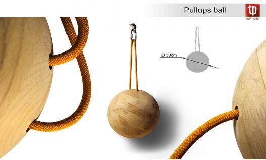 Pullups ball
