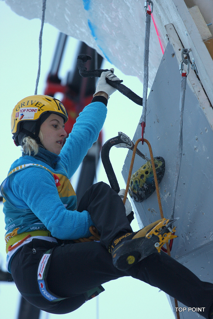 Angelika Reiner, Ice Climbing World Cup, Rabenstein 2013